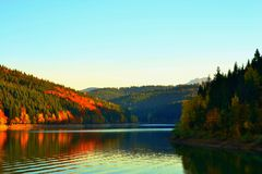 Background nature autumn stock image