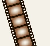 Background from negative film strip. Vector illustration Stock Image