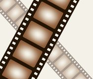 Background from negative film strip Stock Images
