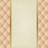 Background. Neutral background with canvas texture Royalty Free Stock Photos
