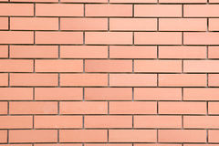 Background of new brick wall Royalty Free Stock Photo