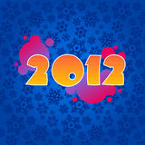 Background for new year Stock Image