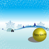 Background for New Year Royalty Free Stock Images