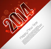 Background for New year 2014 card  Royalty Free Stock Photography