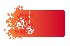 Background for new year and for Christmas. Red background for new year and for Christmas Stock Photos
