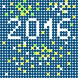 2016 background Stock Image