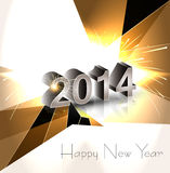 Background for New year 2014 holiday celebration c Stock Images
