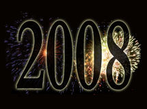 Background - new years eve 2 Royalty Free Stock Photography