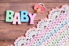 Background for newborn baby Stock Photography