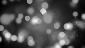 Background with nice black and white bokeh. Abstract Background with nice black and white Stock Image