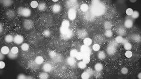 Background with nice black and white bokeh. Abstract Background with nice black and white bokeh Stock Photo