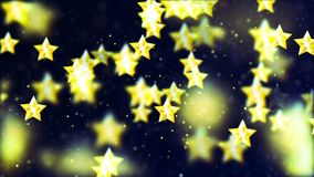 Background with nice flying stars. Abstract Background with nice flying stars Royalty Free Stock Image
