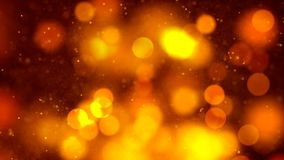 Background with nice orange bokeh. Abstract Background with nice orange bokeh Stock Photos