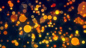 Background with nice orange bokeh. Abstract Background with nice orange bokeh Royalty Free Stock Photos