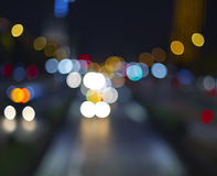 Background of the night city Stock Photography
