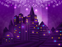 Background night city Royalty Free Stock Photography