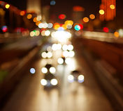 Background of the night city Royalty Free Stock Photography