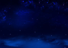 Background of the night sky Stock Photography