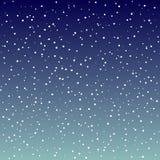 background night sky starry διανυσματική απεικόνιση