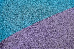Background of non slippery rubber carpet. For outdoor playground, selective focus stock images