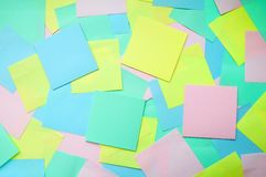 Background of notes Royalty Free Stock Image