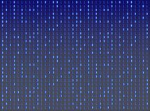 Background number matrix stock illustration