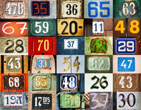 Background with numbers Stock Photos