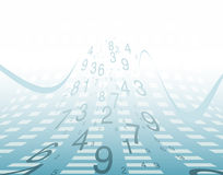 Background numbers. Royalty Free Stock Image