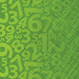 Background With Numbers Stock Photography