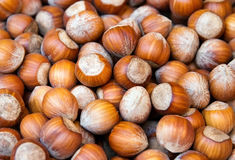 Background of nuts Royalty Free Stock Images