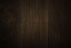 Background oak  wood dark  brown, grunge texture Royalty Free Stock Photos