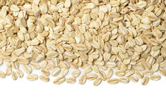Background of oatmeal Stock Photos