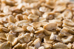 The background of oatmeal Royalty Free Stock Photos