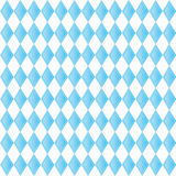 Background for October Fest with blue diamonds Royalty Free Stock Image