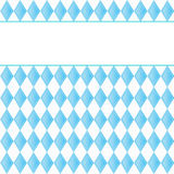 Background for October Fest with blue diamonds Stock Photo