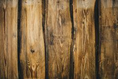 Background Of Brown Old Natural Wood Planks Dark Aged Empty Rural Room With Tree Floor Pattern Texture Closeup Gold View Surface Stock Photo