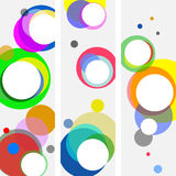 Background Of Circles Stock Photography