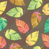 Background Of Leaves. Royalty Free Stock Photo