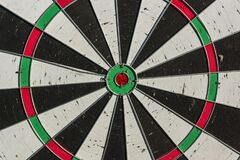 Free Background Of Old Dart Board With Many Holes Stock Photos - 190981883