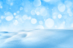 Background Of Shiny Snow Royalty Free Stock Photography