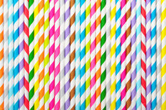 Free Background Of Striped  Drink Straws Royalty Free Stock Image - 36962056