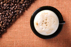 Free Background Of The Coffee Beans Royalty Free Stock Images - 13351059