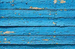 Background Of Wooden Planks Painted In Blue Paint Royalty Free Stock Image