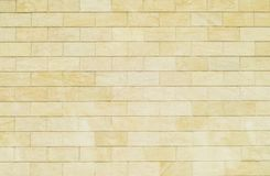 Free Background Of Yellow Bricks. Wall Of Yellow Bricks. The Texture Royalty Free Stock Photography - 101675607