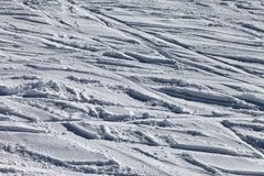 Background of off-piste ski slope Stock Image