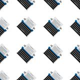 Background for office equipment. Typewriter Royalty Free Stock Photo