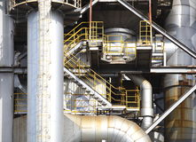 Oil Refinery factory Royalty Free Stock Photos