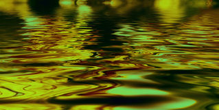 Background with oily liquid of different colors. Background with oily liquid of green colors Royalty Free Stock Photo