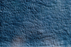 Background old blue leather Royalty Free Stock Image