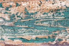 Background old blue wood grunge texture Stock Photo